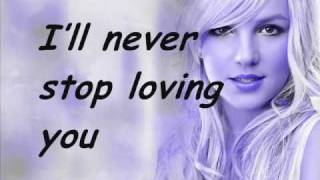 Watch Britney Spears Ill Never Stop Loving You video