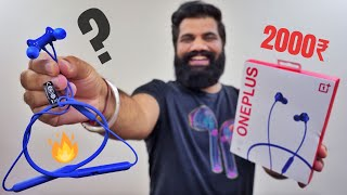 OnePlus Bullet Wireless Z Unboxing & First Look - Best Bluetooth Earphones For 2000₹🔥🔥🔥