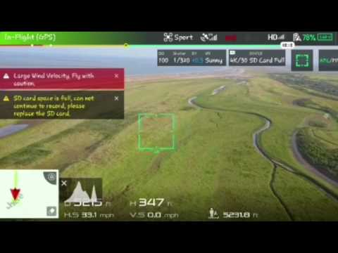 flying my drone from skegness to Gibraltar point!!