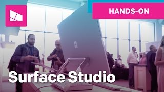 Microsoft Surface Studio hands-on