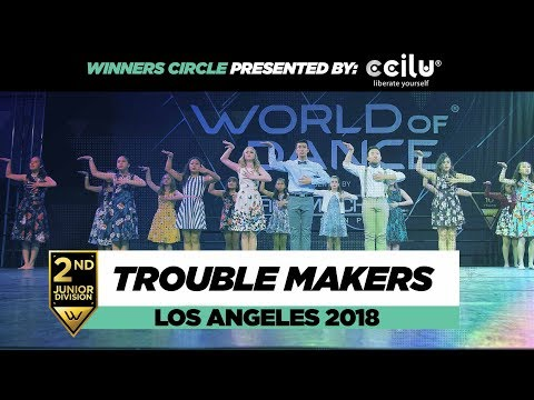 Trouble Makers | 2nd Place Junior Division | Winners Circle | World of Dance Los Angeles 2018
