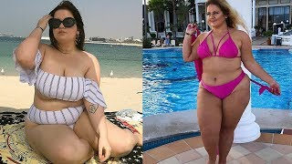 Plus Size Women Beach Outfit Ideas