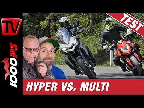 Ducati-Vergleich: Hypermotard 950 vs. Multistrada 950 S