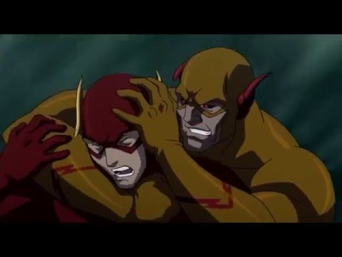 The Flash Vs Professor Zoom The Flashpoint Paradox Last Scene Batman Help