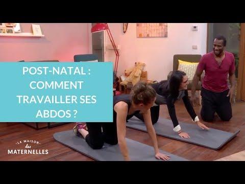 Post-natal : comment travailler ses abdos ?