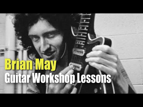 Brian May Guitar Workshop Lessons - Available On Skype Or FaceTime