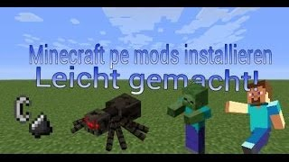 Minecraft pe mods installieren german[easy]