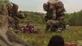 Hellboy vs giants WITH HEALTHBARS versi betlayer