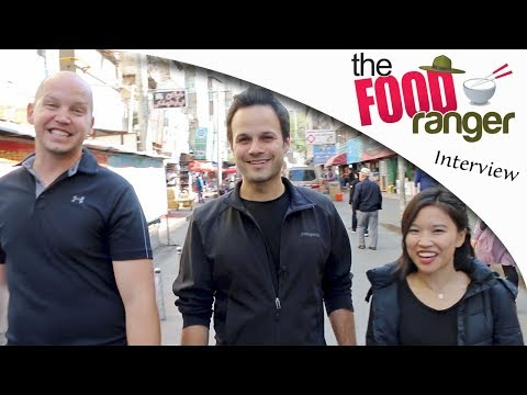 "EXCLUSIVE Interview with Trevor James (aka ""The Food Ranger"") in western China!!"