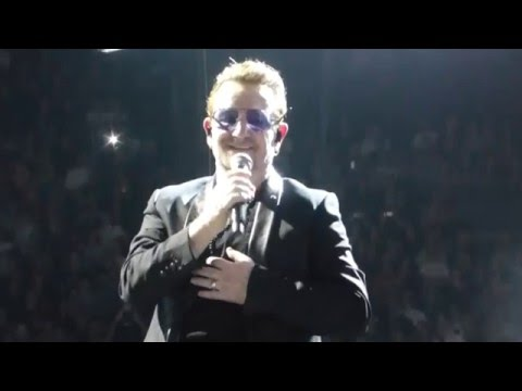 "U2 I+e Tour ""Encore 1"" Paris Show Night 1 6-Dec-2015"