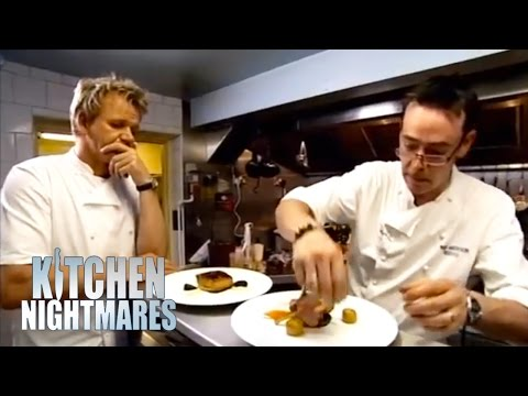 Clueless Chef at work - Ramsay's Kitchen Nightmares