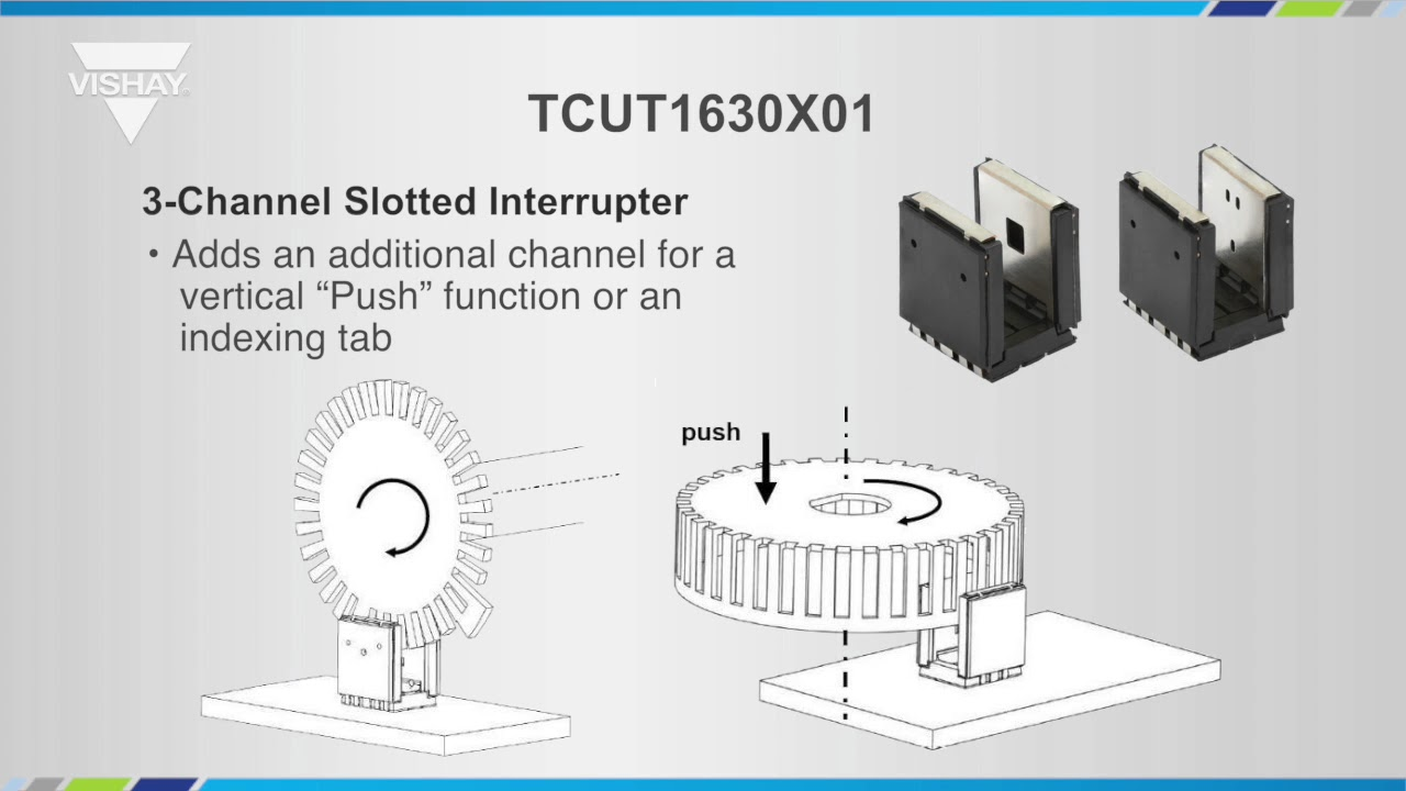Optoelectronics Tcut1630x01 Transmissive Optical Sensor Youtube Slotted Opto Switch