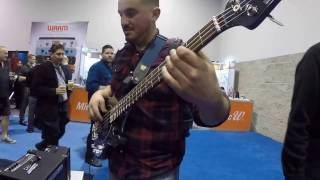 hartke hd500 combo review namm 2017
