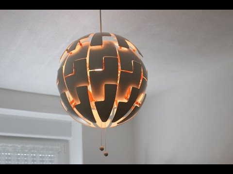 ikea ps 2014 lampe anbau anleitung montage von gewusstwie english subs youtube. Black Bedroom Furniture Sets. Home Design Ideas