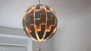 IKEA PS 2014 Lampe Anbau Anleitung Montage - von GewusstWie (english subs)