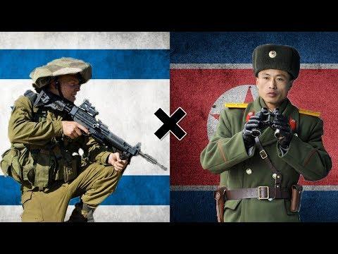 Israel x Coreia do Norte - Comparação Militar