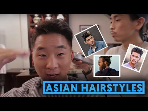 ASIAN HAIRSTYLES FOR GUYS - Pompadour, Quiff & Man Bun