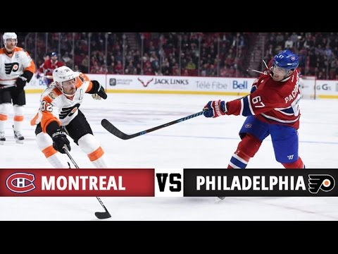 Montreal Canadiens vs Philadelphia Flyers | Season Game 6 | Highlights (24/10/16)