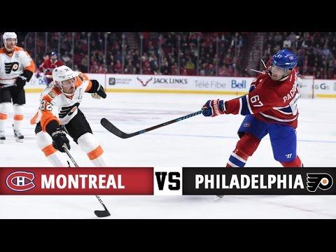 Montreal Canadiens Vs Philadelphia Flyers Season Game 6 Highlights 24 10 16 Youtube