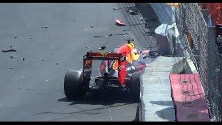 crash pure sound GP F1 Monaco 2016 HD chicane