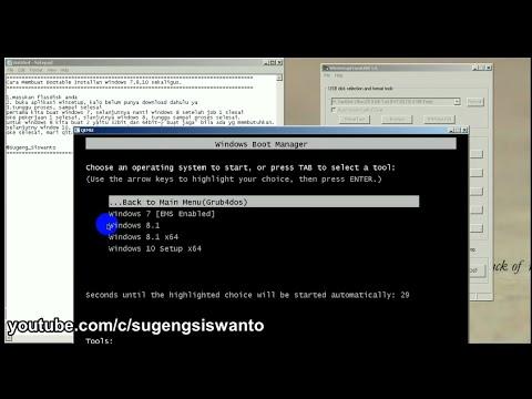 How to Make Multiboot Installer Windows 7,8,10 (Cara Membuat Installan  Windows 7,8,10 Sekaligus) by Sugeng Siswanto