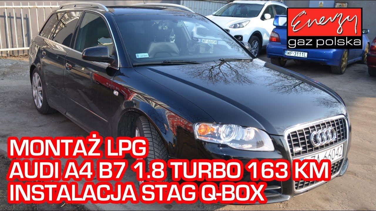 Montaż Lpg Stag Audi A4 18t 163km 2006r W Energy Gaz Polska Na Auto