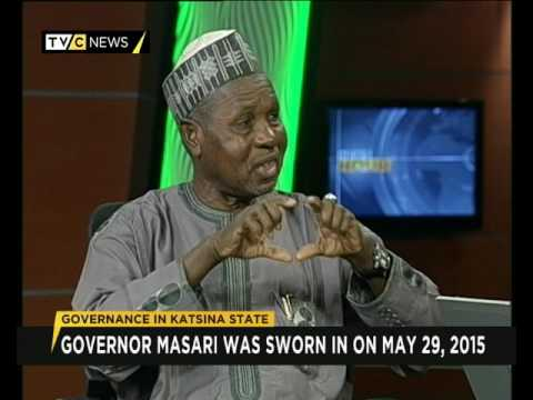 Katsina State Governor Aminu Masari gives account of his stewardship