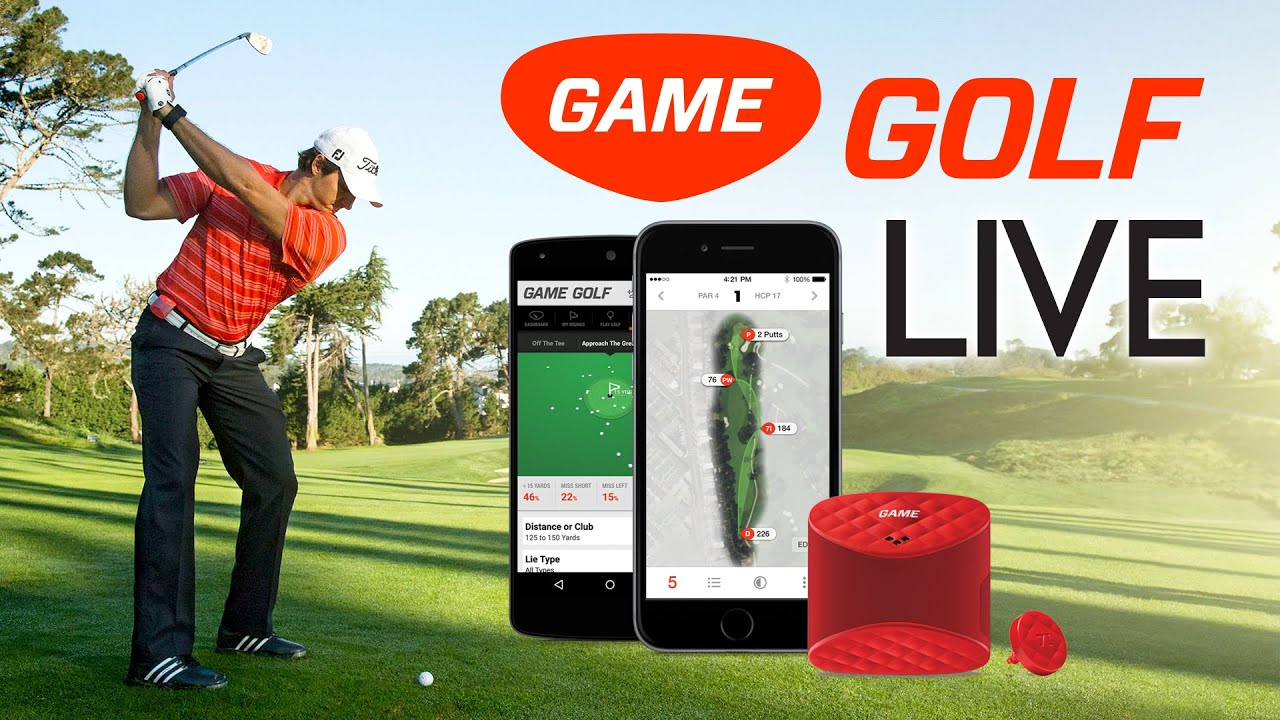 new game golf live short video real time shot tracking. Black Bedroom Furniture Sets. Home Design Ideas