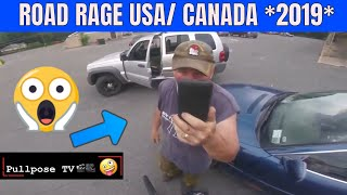 ROAD RAGE IN AMERICA / BAD DRIVERS USA, CANADA / NORTH AMERICAN DRIVING FAILS