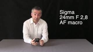 Sigma 24mm F 2,8 AF macro lens review - Stefano Medici - i video di Foto Art