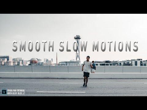 VEGAS PRO 14 - Cara Membuat Efek Slow Motion Dengan Video Low FPS.