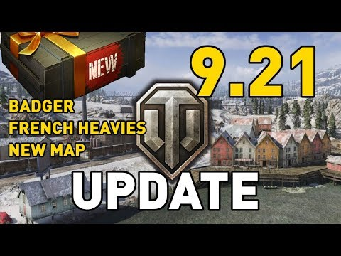 World of Tanks || Update 9.21 - Test Server Preview