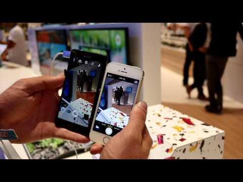 Sony Xperia Z3 Compact vs. Apple iPhone 5S Comparison [4K]