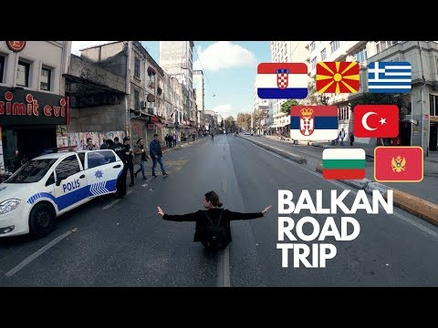 ROAD TRIP / BALKAN / SHORT TRAVEL VIDEO / 7 COUNTRIES 10 CITIES