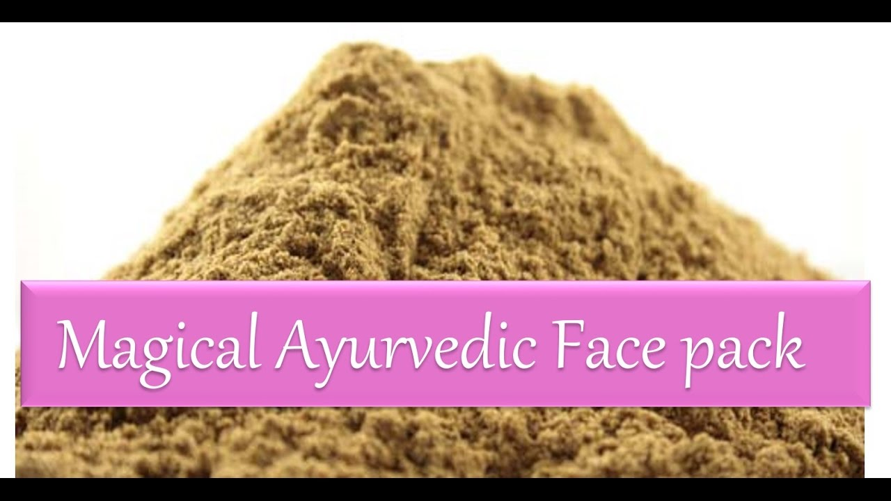 Magical Ayurvedic Herbs Face-pack for Pimples  Fairness  Glowing Skin