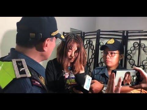 Chinese na nagsaboy ng taho sa pulis sa MRT, nag-sorry