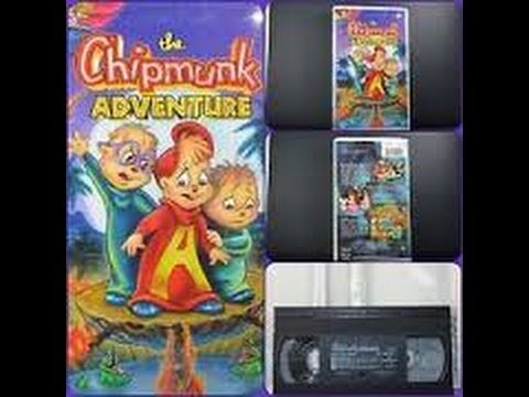 Closing To The Chipmunk Adventure 1998 Vhs Youtube