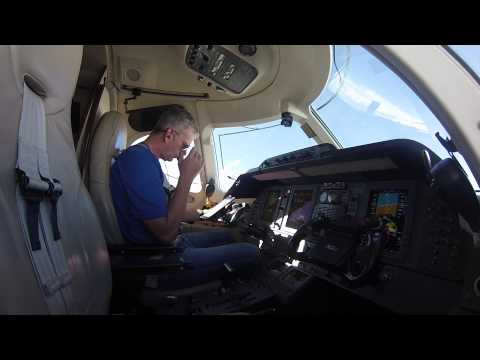 Private Jet flight into Denver International from Eagle- Gre