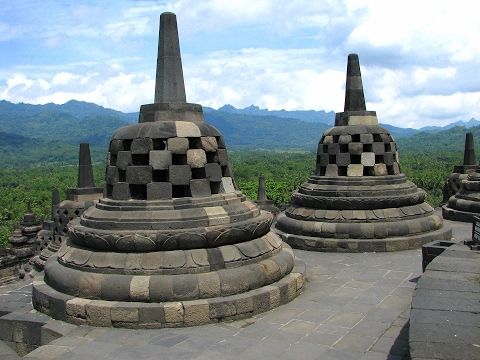 World's Largest Buddhist Temple, Borobudur,  Magelang, Central Java, Indonesia | UNESCO Site