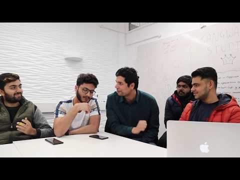 Indian and Pakistani Students Interview| Student Life in UK