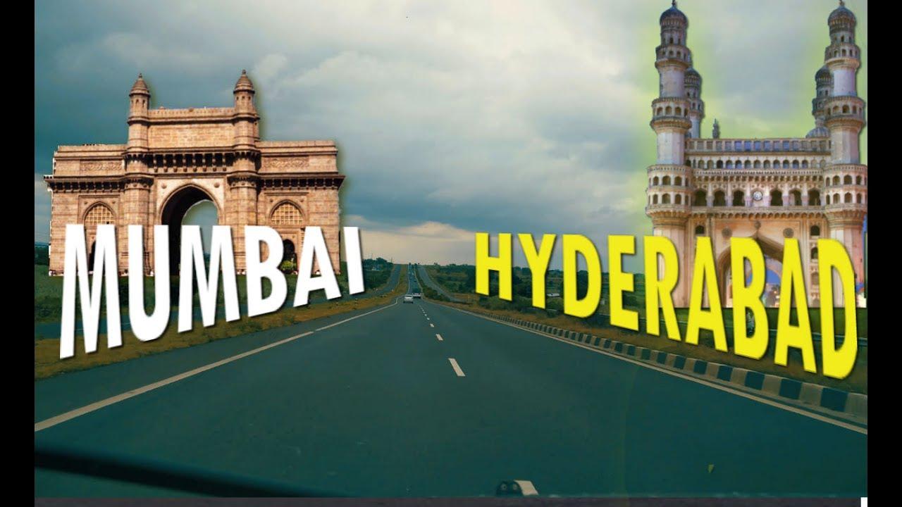 Mumbai To Hyderabad : Road Trip - YouTube
