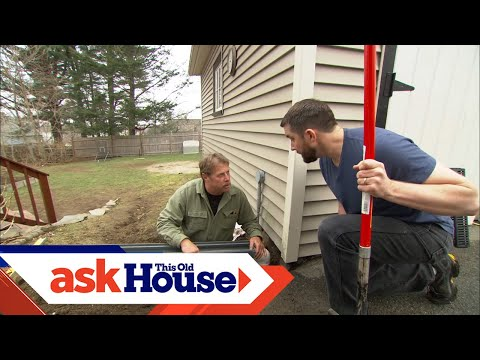 How To Install A Channel Drain Ask This Old House Youtube