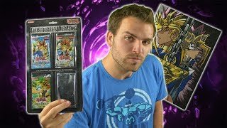 GODLY Classic YuGiOh 2005 Forbidden Legacy Blister Pack Opening! My First YuGiOh PAINTING #MMM