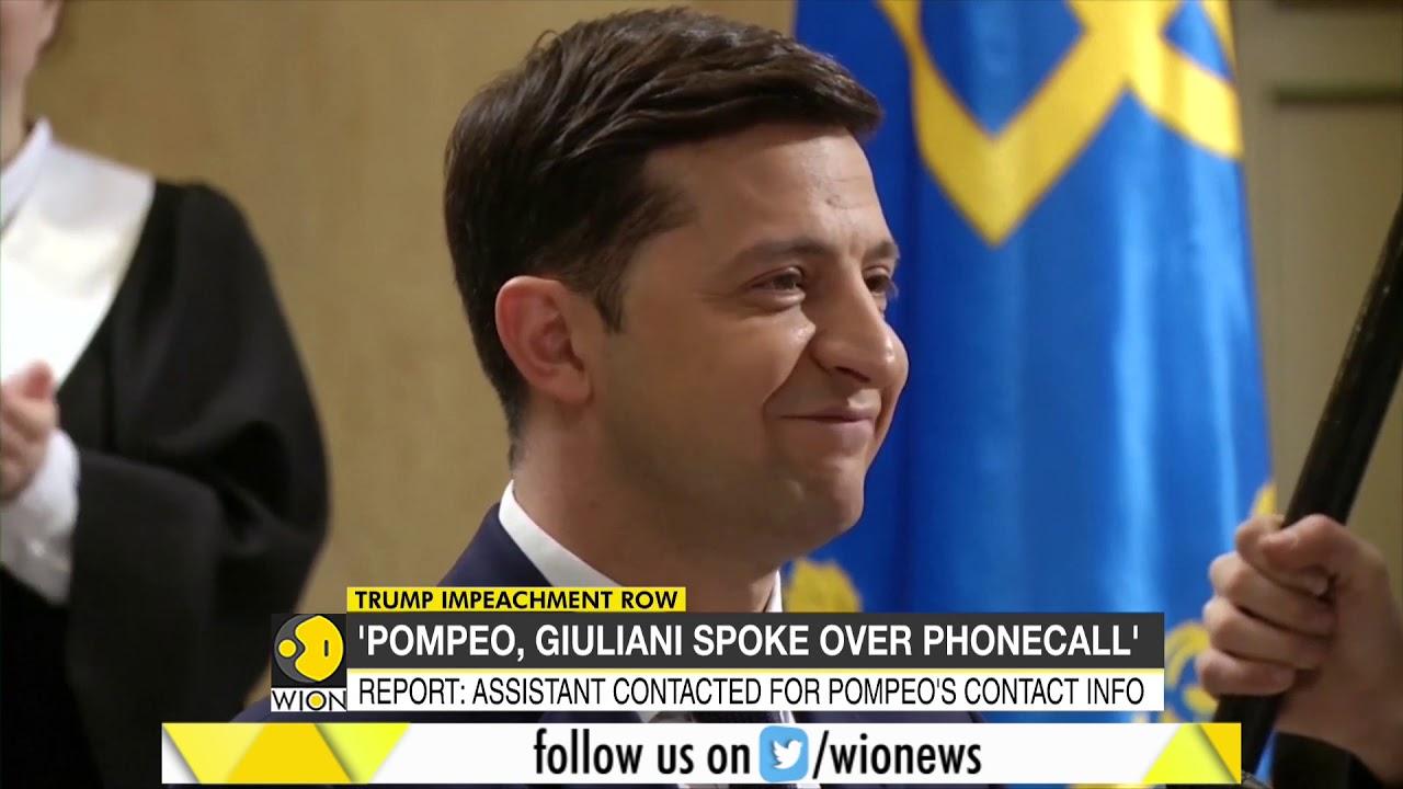 Trump Impeachment Row: U.S State department releases Explosive report