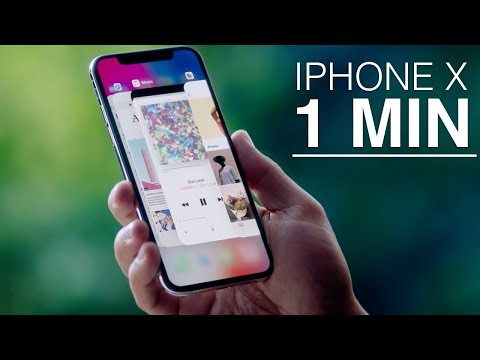 iPhone X en 1 Minuto!