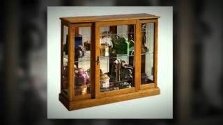 Oak Curio Cabinet - Putting Your World On Show