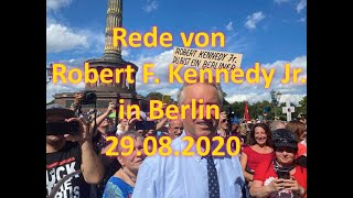 Robert F. Kennedy Jr. auf der Demo in Berlin am 29.08.2020