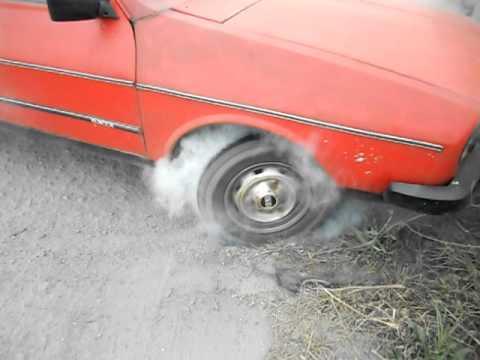 Dacia burnout!!! Nebunie maxima!!!