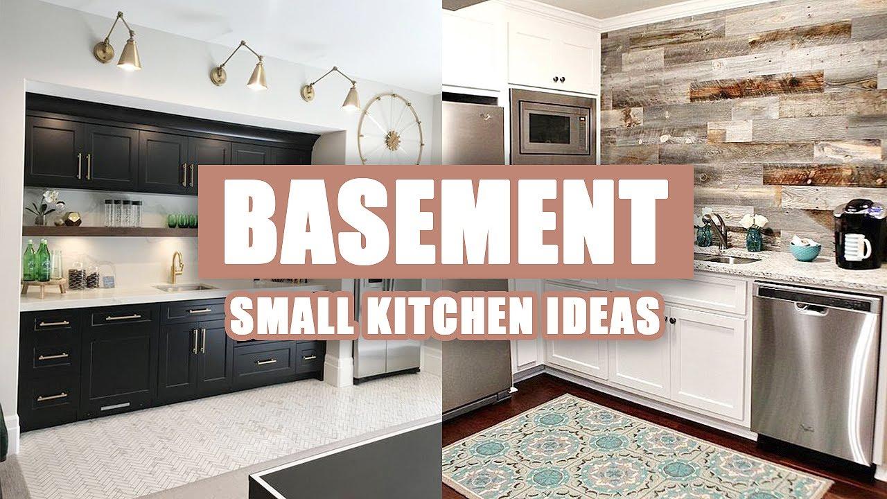 14 Small Basement Kitchen Ideas Youtube