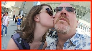 Gassing Up, Singing, Halifax Donair, Virginia In The Car, Pam Am Rehearsal - Ken's Vlog #394